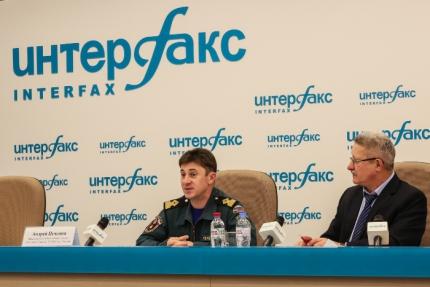 "Пикор-Лёд. Пресс-конференция ""Интерфакс"""
