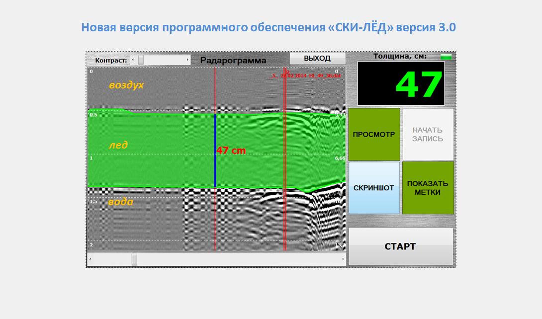 радарограмма