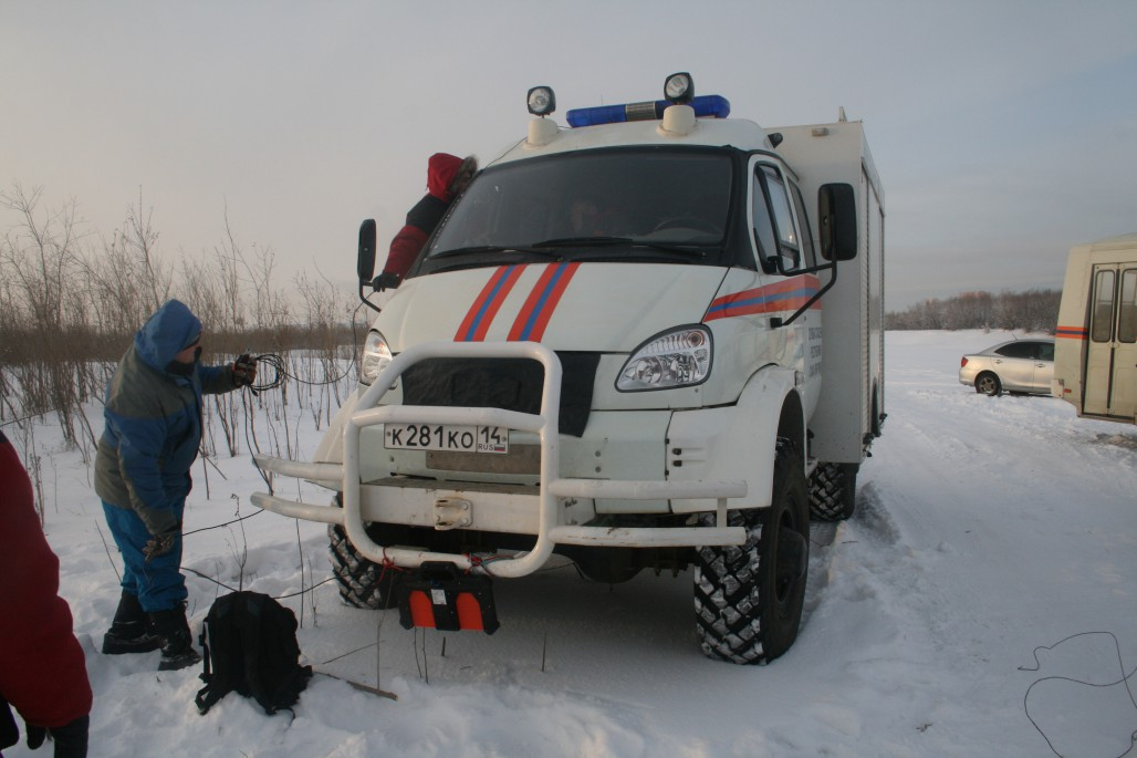Пикор-Лёд на транспорте МЧС